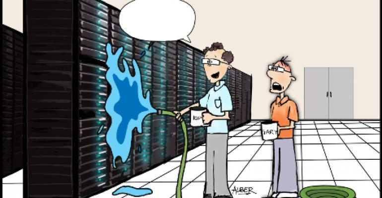 Friday Funny: Liquid Cooling in Data Center