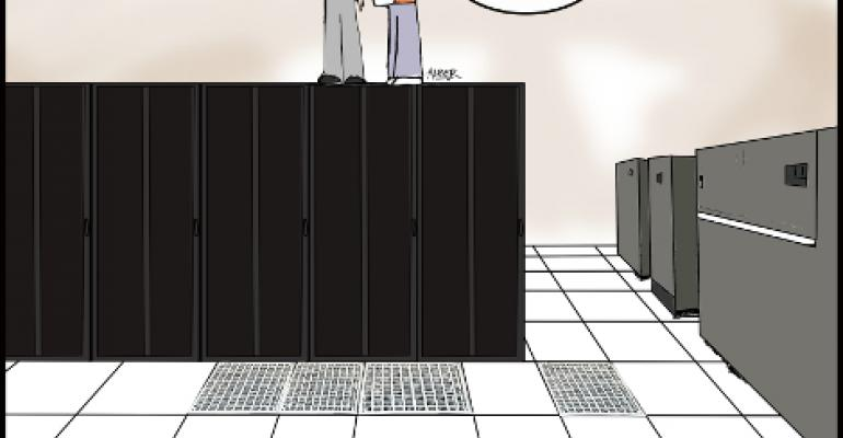 Friday Funny: Data Center Ceiling