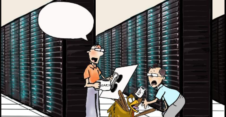 Friday Funny: Data Center Thanksgiving