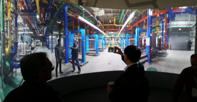 Go on a Virtual 360-Degree Google Data Center Tour