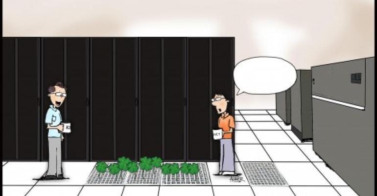 Friday Funny: Lucky Data Center