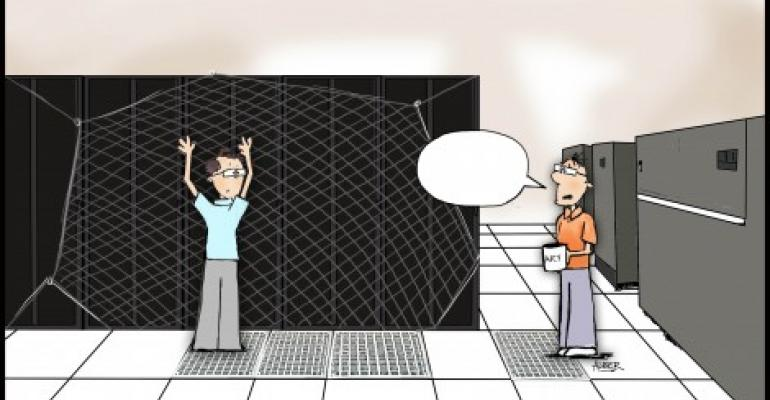 Friday Funny: A Data Center Safety Net