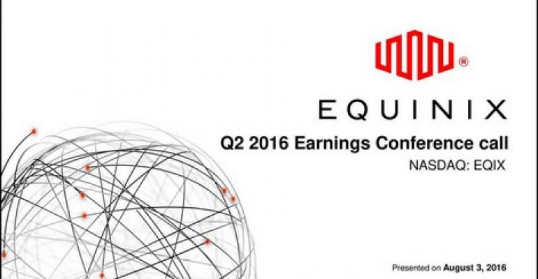 Equinix: Our Customers Are Pushing Out Our Global Footprint