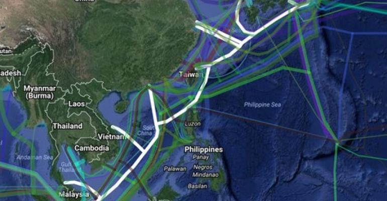 54-Terabit Submarine Cable Linking Asian Nations Goes Live