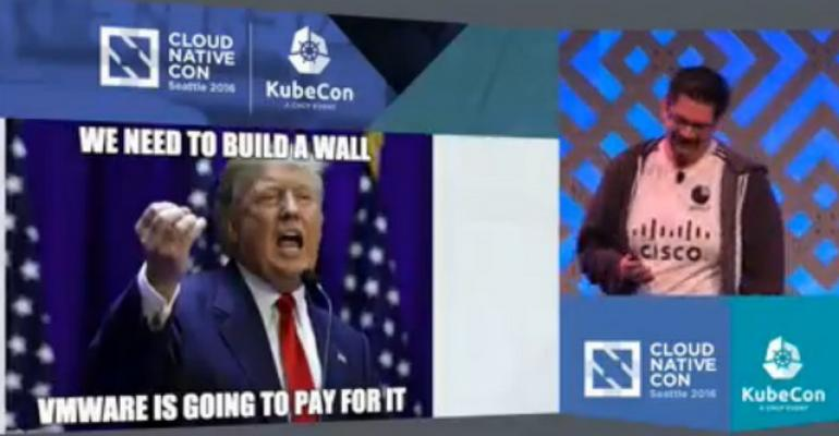 Cisco CTO to Cloud-Native Group: Stop Building Walls