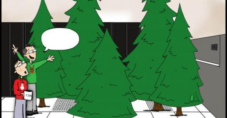 Friday Funny: Christmas in the Data Center