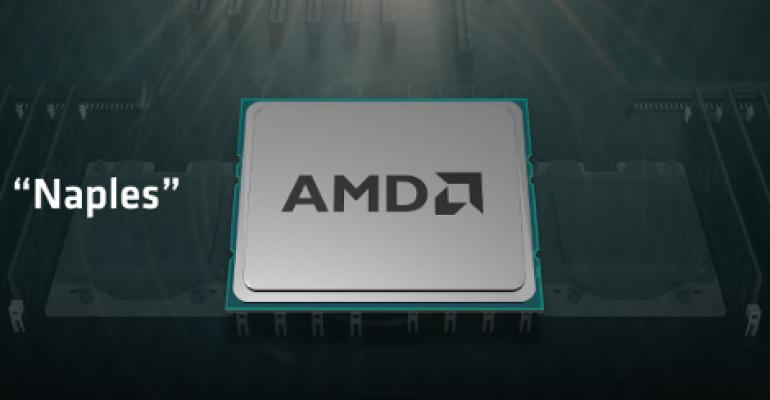 AMD Paves Road Back to Data Center with High-Performance Naples SoCs