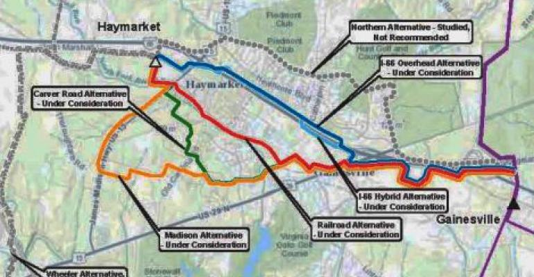 New Power Line for Amazon May Run Above Railroads Despite Opposition