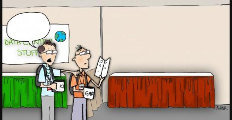 Friday Funny: Kip and Gary Go to a Data Center Conference