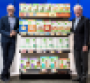 Microsoft CEO Satya Nadella and Kroger CEO Rodney McMullen