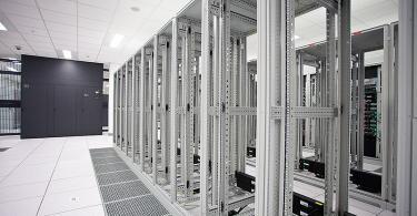 Inside a former CenturyLink data center