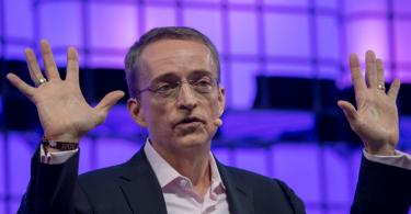 Pat Gelsinger, then CEO of VMware, speaking at a conference in 2017