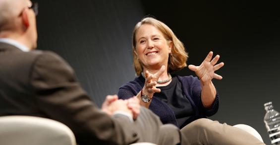 Outgoing Google Cloud CEO Diane Greene