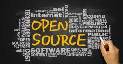 open source chalkboard word map