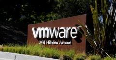 At VMware headquarters in Palo Alto, California