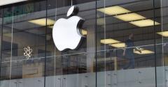 An Apple store in Munich, 2021