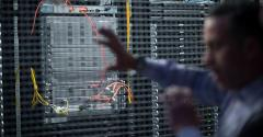 colocation data center cage