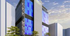Rendering of Digital Realty's future Seoul data center