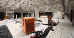 New data hall being commissioned inside Equinix's PA8 data center in Pantin (outside Paris) in February 2019
