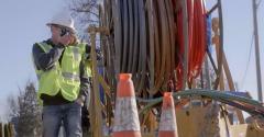 Facebook fiber network construction, Indiana