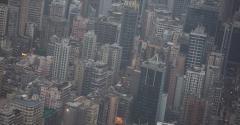 Hong Kong skyline, seen in 2013