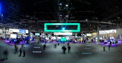 The show floor at HPE Discover 2018 in Madrid
