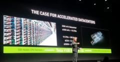 Jensen Huang, CEO, NVIDIA, speaking at the GPU Computing Conference in San Jose in May 2017