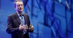 VMware CEO Pat Gelsinger speaks at VMworld 2016