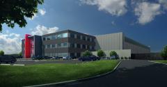 Rendering of QTS's latest data center in Ashburn, Virginia