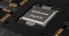 Rendering of the upcoming Qualcomm Cloud AI 100 processor