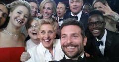 All-Star Oscar Selfie Crashes Twitter