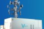 A rendering of Vapor IO's Kinetic Edge module with tower
