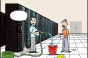 Friday Funny: Pick the Best Caption for Data Center Cleaning