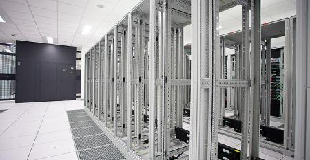 Inside a former CenturyLink data center