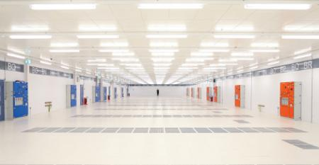 Inside a Digital Realty data center in Dublin, Ireland