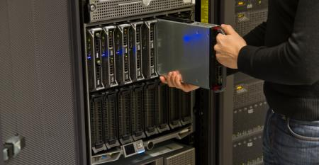 Blade server install