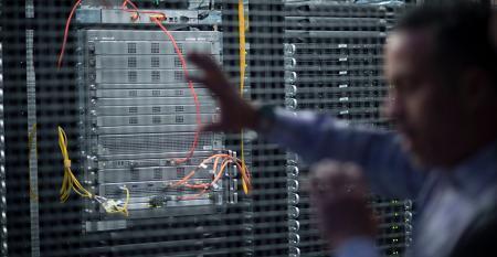 colocation data center cage