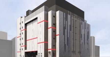 Rendering of Equinix's future SG4 data center in Singapore