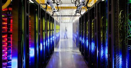 Inside Google's data center in Council Bluffs, Iowa