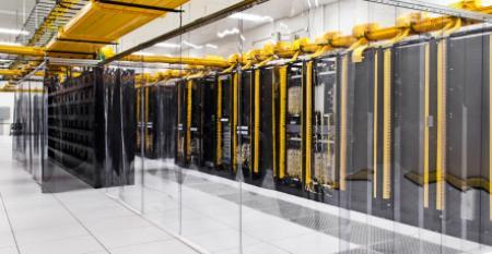 google data center network room council bluffs