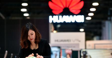 Huawei at CES 2018 in Las Vegas
