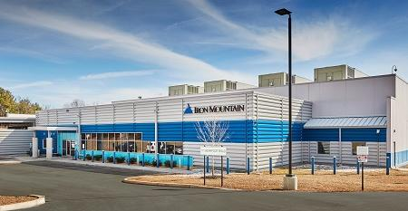 Iron Mountain data center in Manassas, Virginia