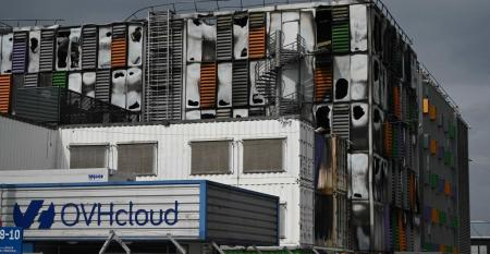 OVH SBG2 data center in Strasbourg destroyed by fire on March 10 2021
