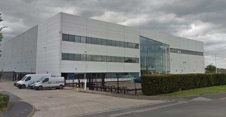 Server Farm's data center in Feltham, UK