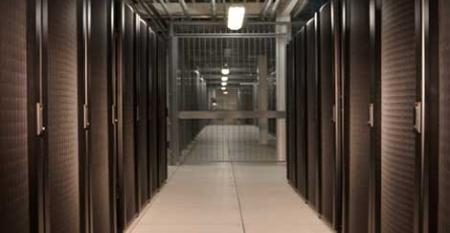 The equipment area inside the Datacenter.BZ facility in Columbus, Ohio, which has been acquired by Cologix.