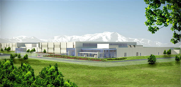 Oracle's planned Utah Compute Center in West Jordan, Utah. State officials say Oracle has halted construction on the project.