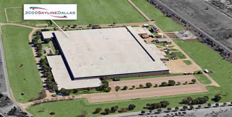 An aerial view of 3000 Skyline, the CAPSTAR/Cambay project in Mesquite, Texas.