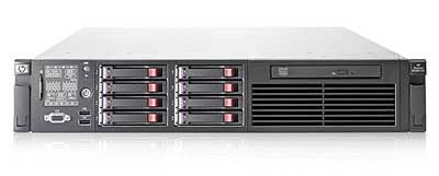 The HP DL380 is one of the first servers to earn the EnergyStar rating.