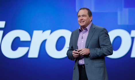 Microsoft president of Server and Tools Bob Muglia discusses Windows Azure at the Worldwide Partner Conference Tuesday in New Orleans.