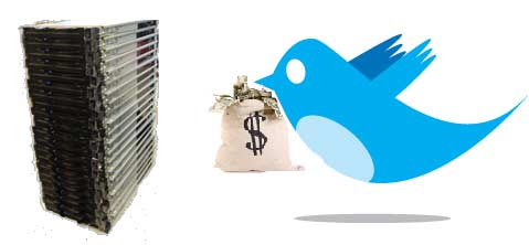 How Much of Twitter's $100M is for Servers?   Data Center